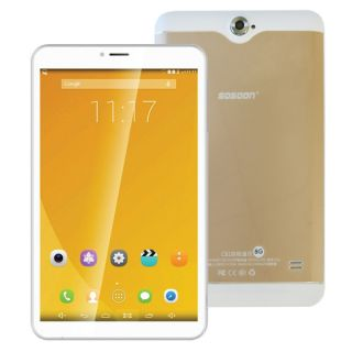 """Sosoon 8.0"""" Smart Tablet Pc With Sim & Sd Card 4G"""