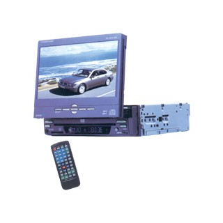 Car Dvd Player With 7  Tft Lcd Monitor