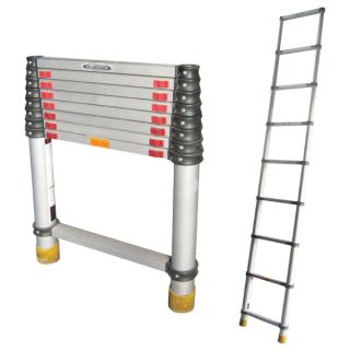 Aluminium Telescopic Ladder 8 Steps 2.6M